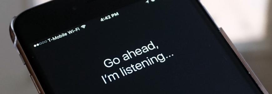 Siri voice searches