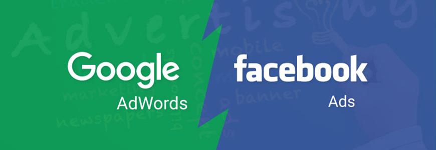 Google AdWords vs. Facebook Costs